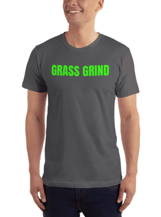 GrassGrind Apparel Model